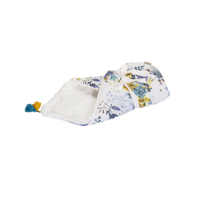 LILU swaddle blanket made of muslin - Roses, LILU