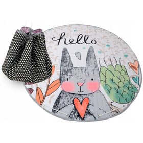 Toy storage bag and mat - all in one - Hare, Podlasiak