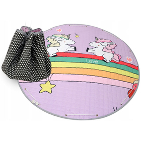 Toy storage bag and mat - all in one - Unicorn, Podlasiak
