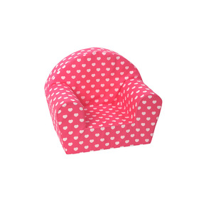 Kids' chair Hearts - pink, Delta-trade