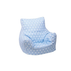 Child bean bag Stars - blue, Delta-trade