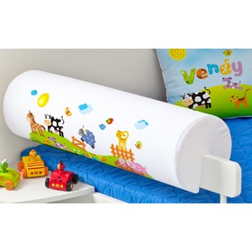 Safety Rail Protector - Farm, Mint Kitten