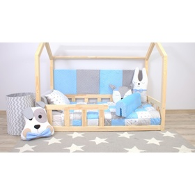 Foam bed rail Ourbaby - light blue , Dreamland