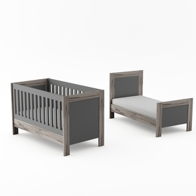 Baby crib Manhattan - gray