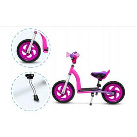 Children push bike a scooter LIONELO Roy - pink, Lionelo