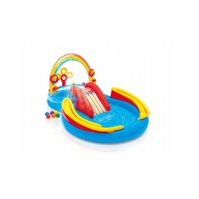 Children inflatable pool Rainbow, EcoToys