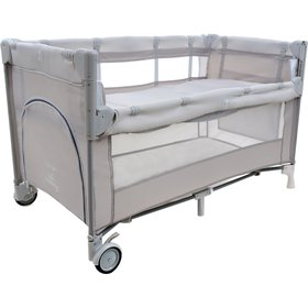 Travel cot Close to Mommy - beige, Multiglob