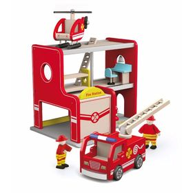 Fire station with accessories, Viga