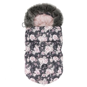 Children's fleece jacket Night flowers, Makaszka