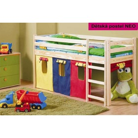 NEO Children's Mid Sleeper Bed