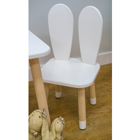 Children's chair - Eyelet - white, Ourbaby