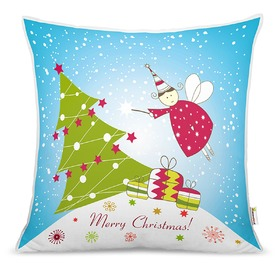 Christmas children pillow - christmas fairy