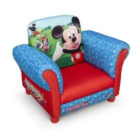 Disney Mickey Mouse Children's Upholstered Armchair, Delta