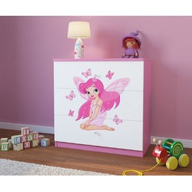 Ourbaby children's chest  of drawers- Fairy Leonka