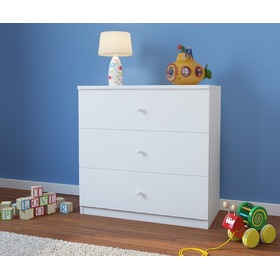 Ourbaby children's chest of drawers - white