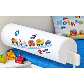 Children's Safety Rail Protector - Cars, Mint Kitten