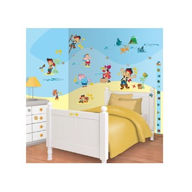 Stickers Disney Jake a pirates, Walltastic, Jake and the Never Land Pirates