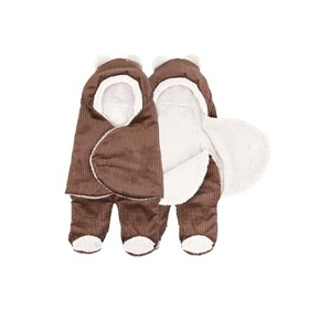 Universal wrap / sleeping bag to stroller a motorcycle seats - brown / cream, Gluck Baby