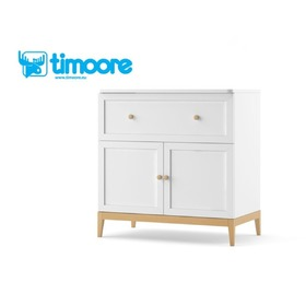 Chest of Drawers doubledoor with socket Elle, Timoore