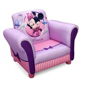 Disney Minnie Mouse Children's Upholstered Armchair, Delta, Minnie Mouse