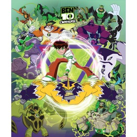 Children's 8-Panel Wall Mural - Ben 10 Omniverse, Walltastic, Ben 10