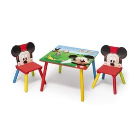 Mickey Mouse II Children's Table with Chairs, Delta, Mickey Mouse
