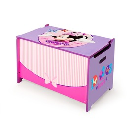 Minnie Mouse Children's Wooden Toy Chest, Delta, Minnie Mouse