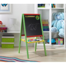 Wooden Children's Magnetic Easel