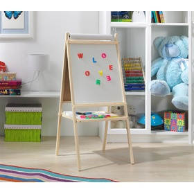 Natural children's magnetic board
