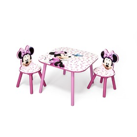 Minnie III Children's Table with Chairs, Delta, Minnie Mouse