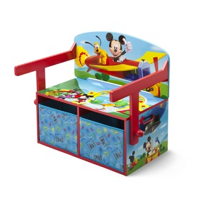 Children's Bench with Storage Space - Mickey Mouse