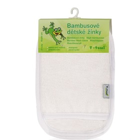 Children's Bamboo Wash Cloth - Glove, T-Tomi