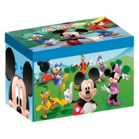 Mickey Children's Fabric Toy Chest, Delta, Mickey Mouse