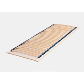 Beech lamella bed base - Solid