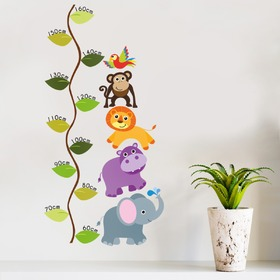 Children's growth chart - Jungle meter, Housedecor