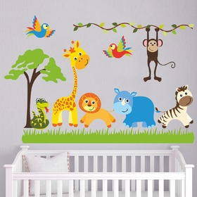 Wall Decoration - Safari