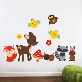 Wall Decoration - Fawn and Animals