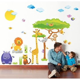 Wall stickers - Safari tree