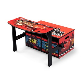 Children's Bench with Storage Space - Cars, Delta, Cars