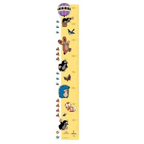 The Mole Children's Height Chart, Decofun, Little Mole