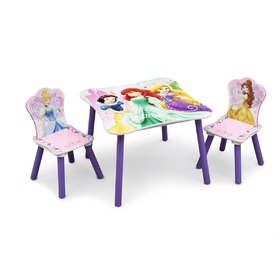 Princess III Children's Wooden Table, Delta