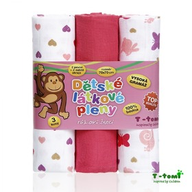 Cloth Tetra diapers with print - TOP QUALITY, T-Tomi