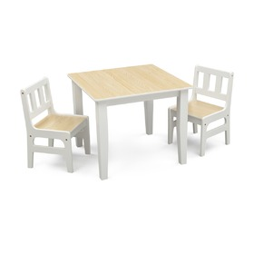Natural Children's Table with Chairs, FUJIAN GODEA