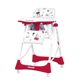 CHIPOLINO Modesto High Chair - Scarlet, CHIPOLINO LTD.
