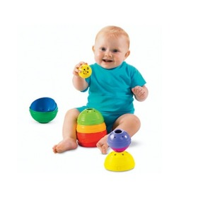 Fisher Price Stack & Roll Cups, Fisher Price