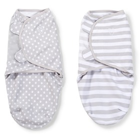 SwaddleMe - Children wrap grey 2ks, Summer Infant