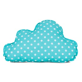 Pillow - Turquoise cloud