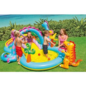 Children inflatable pool Dinopark, EcoToys