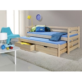 Sam Children's Trundle Bed - Natural, Meblobed