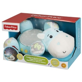 Fisher Price Plush Hippo - Wall Projector, Fisher Price